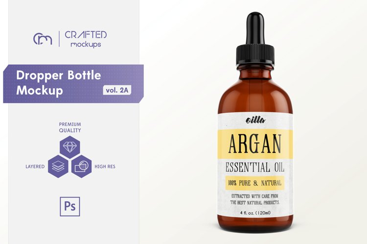 Dropper Bottle Mockup vol. 2A example image 1