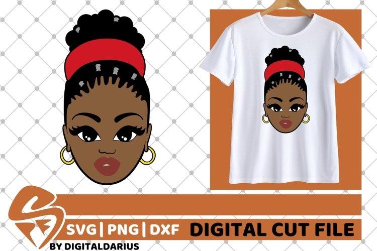 Black Woman svg, Black History svg, Melanin svg, Headband