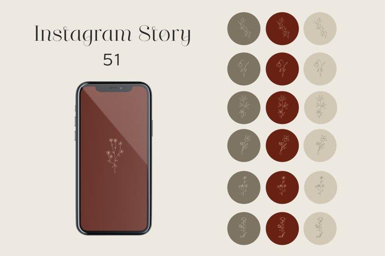 Highlight icons, instagram stories, minimalistic design