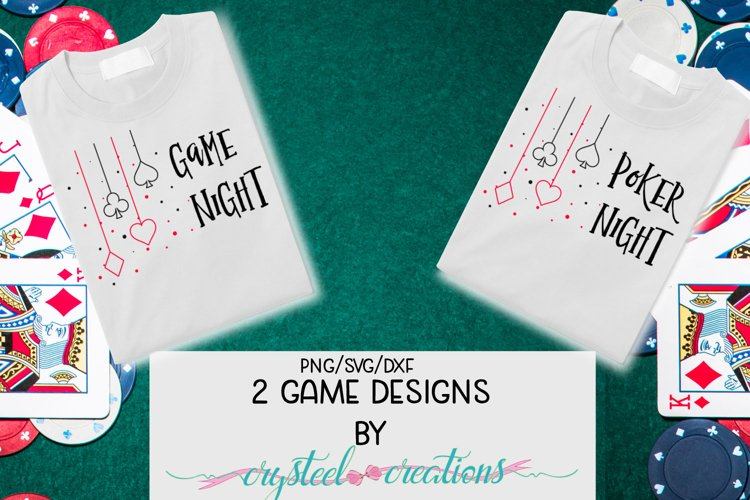Game Designs SVG, PNG, DXF