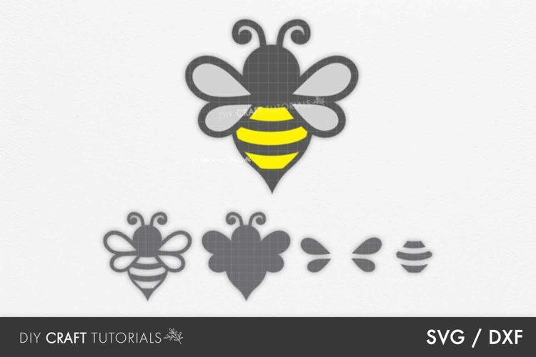 Bee svg, Bumble Bee svg, Honey Bee svg example image 1