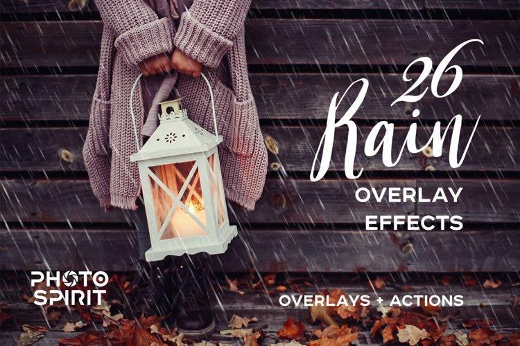 Rain Overlay Effects example image 1