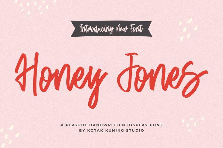 Cute Script Font - Honey Jones example image 1