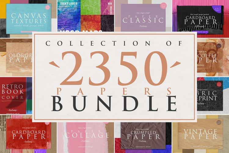 2350 Paper Textures Bundle