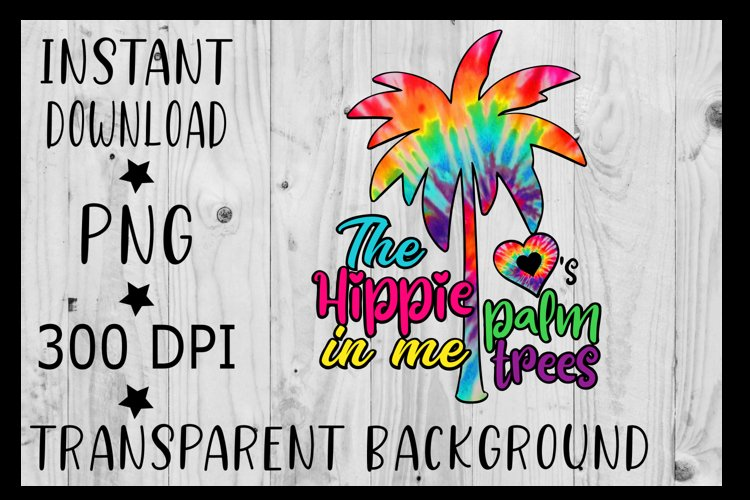 Palm tree Clipart PNG Tie Dye , Vector , Beach png