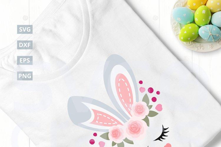 Easter Bunny SVG Cut File, svg, dxf,eps, png
