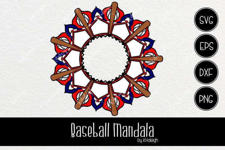 Download Baseball Mandala Monogram 88540 Illustrations Design Bundles