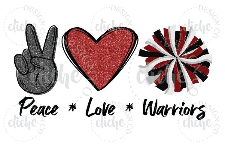 Warriors Mascot Sublimation Design