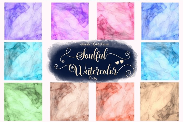 Soulful Watercolor example image 1