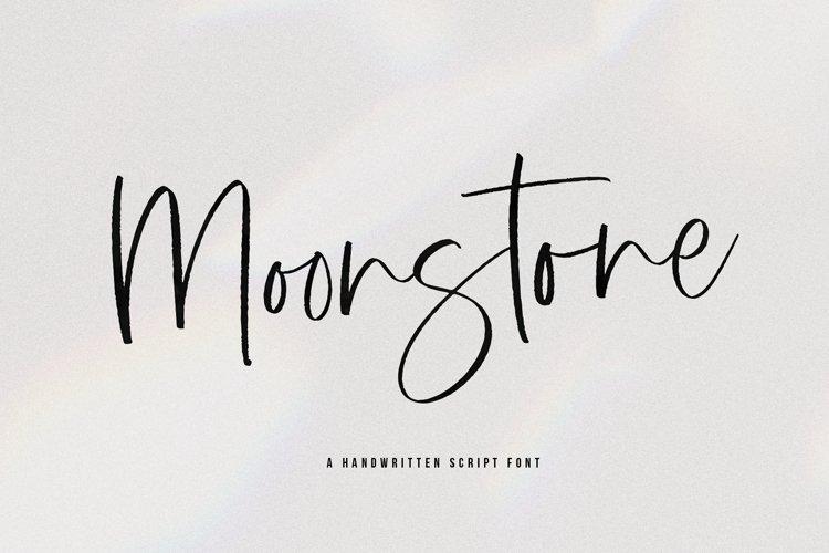 Moonstone - A Handwritten Script Font example image 1