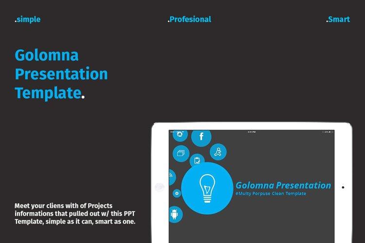 Golomna Multipurpose PowerPoint example image 1