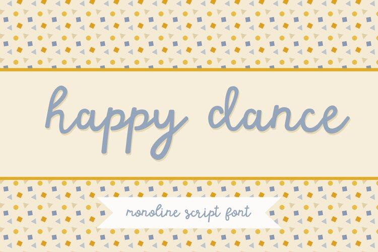 Happy Dance Script Font example image 1