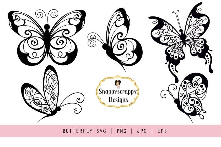 Butterflies - SVG