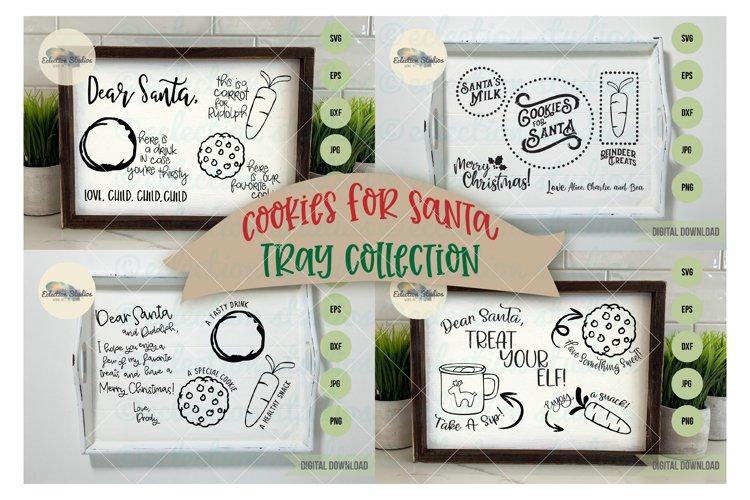 Christmas Cookies for Santa Tray SVG Bundle example image 1
