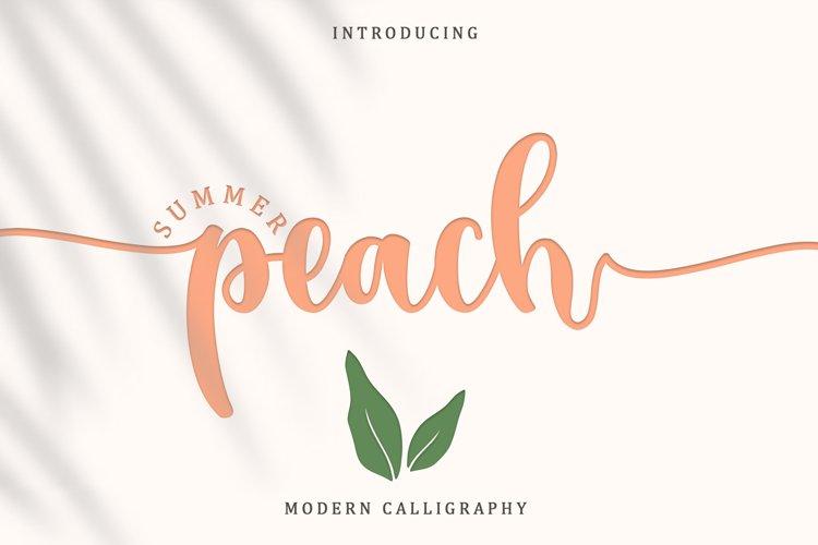 Summer Peach example image 1