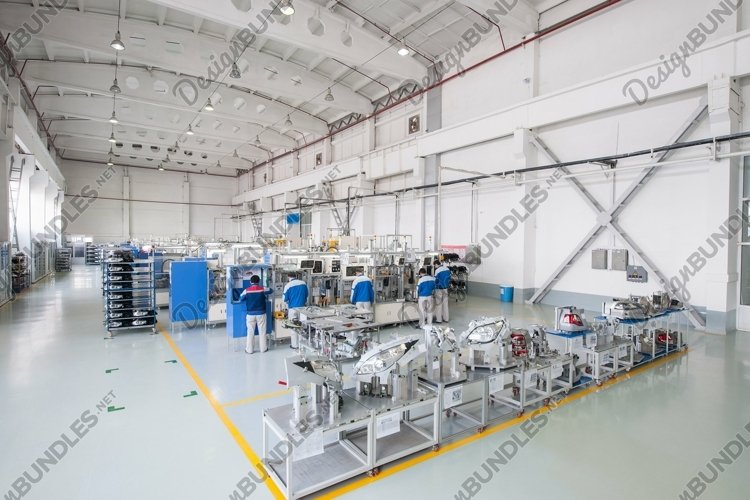 Factory for the production and assembly of car headlights example image 1
