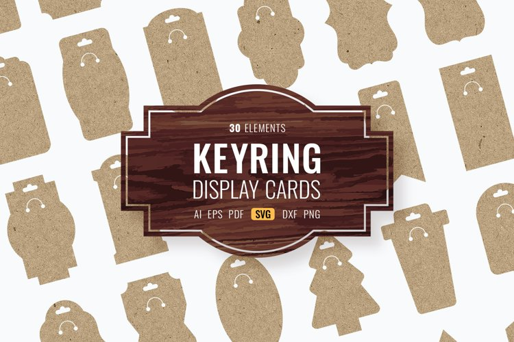 Keyring Display Cards Bundle