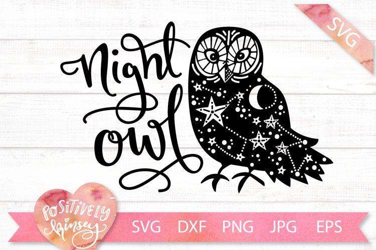 Night Owl Svg Dxf Png Eps Jpg Nocturnal Owl Svg Cutting File 301150 Svgs Design Bundles