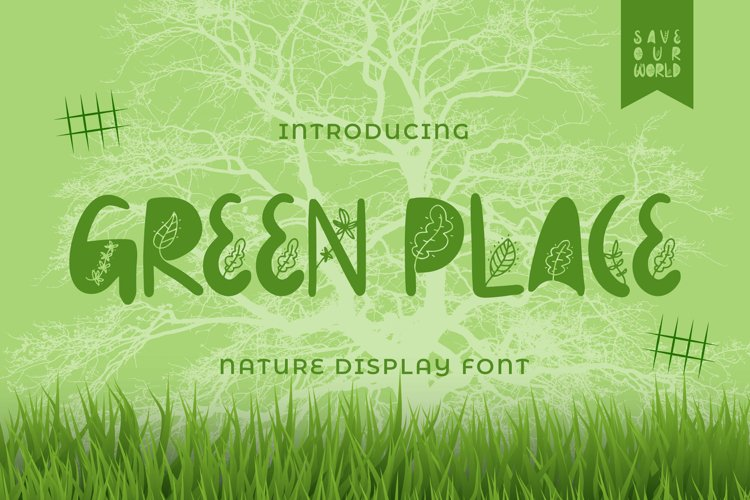 Greenplace Font example image 1