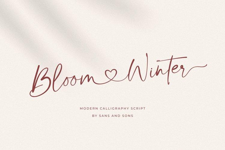 Bloom Winter example image 1