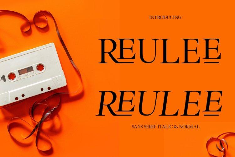 Reulee example image 1
