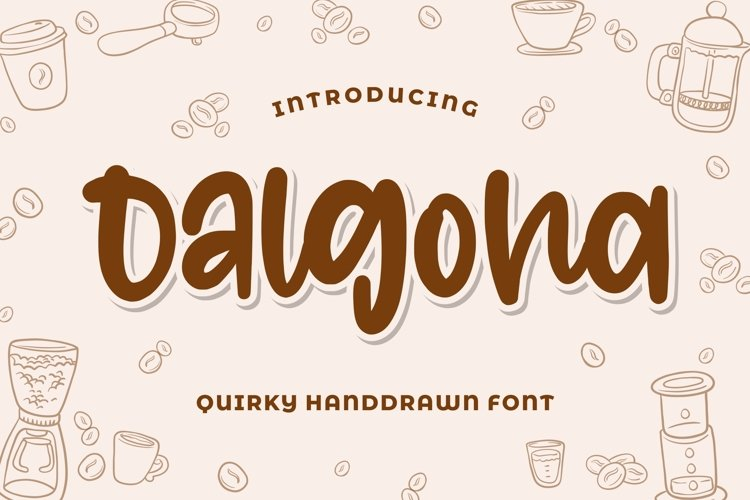 Dalgona - Quirky Font example image 1