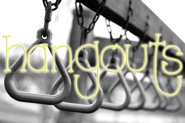Hangouts Font example image 1