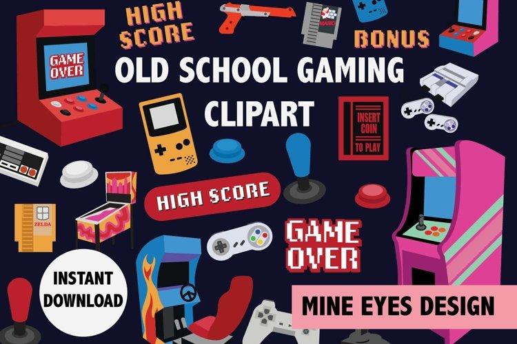 Old School Arcade Clipart