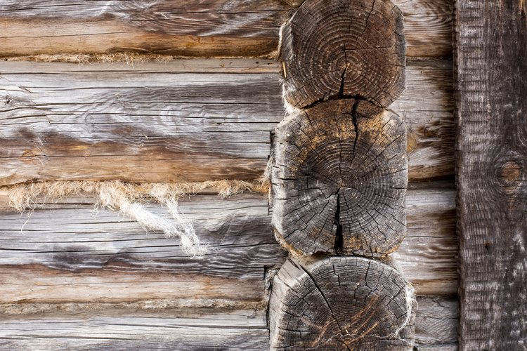barn background from old textured wood timbered wall