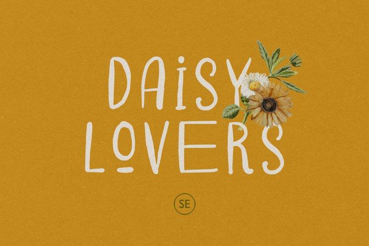 Daisy Lovers - Handwritten Sans example image 1