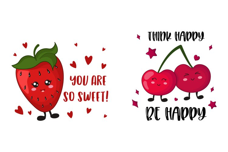 Kawaii sweet Berries example image 1