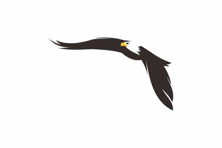 logo, flying eagle, powerful