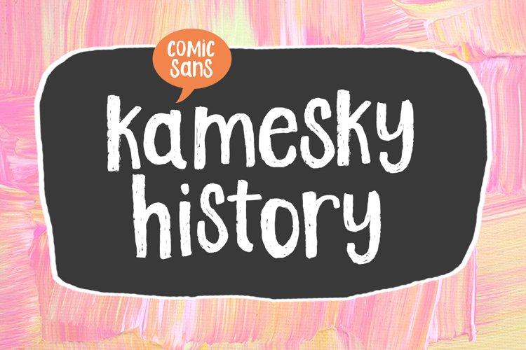 Kamesky History example image 1