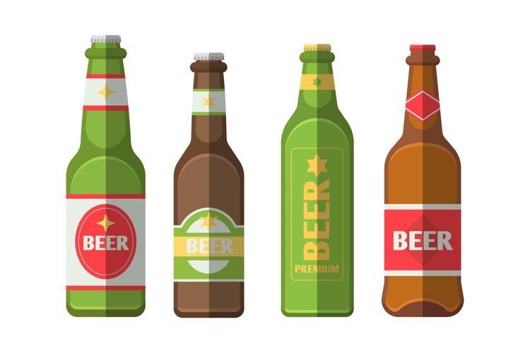 Beer Bottle Illustrations example image 1