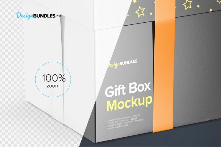 Gift Box Mockups example 5