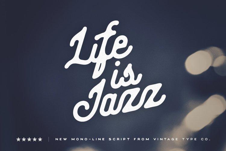 Life Is Jazz Script example image 1