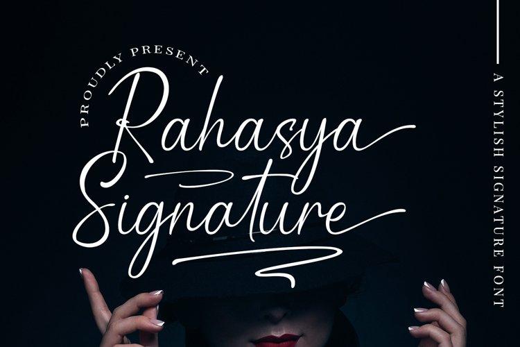 Rahasya Signature example image 1