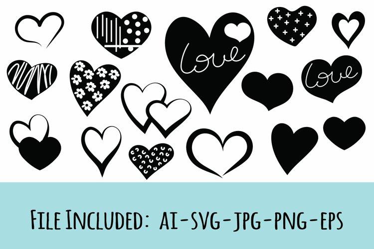 Heart Bundle, Valentine Days Svg, ai, eps, jpg, png format
