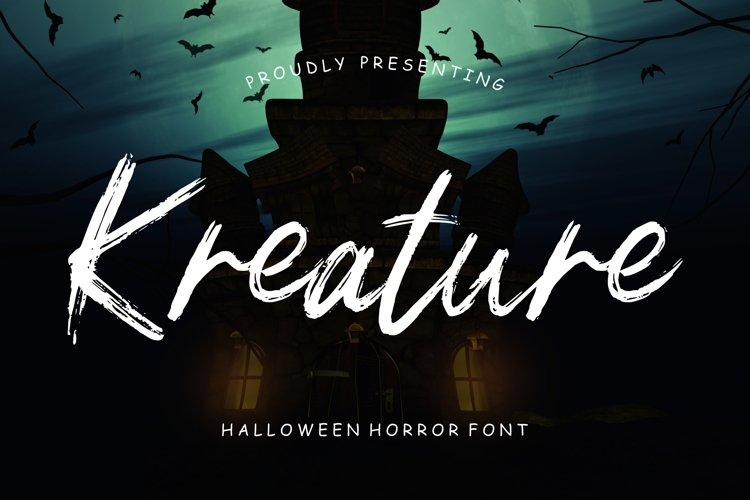 Kreature Halloween Horror example image 1