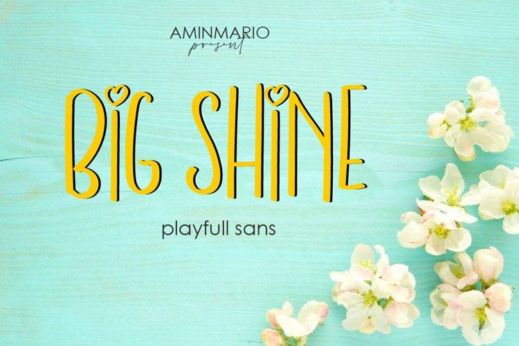 Big Shine example image 1