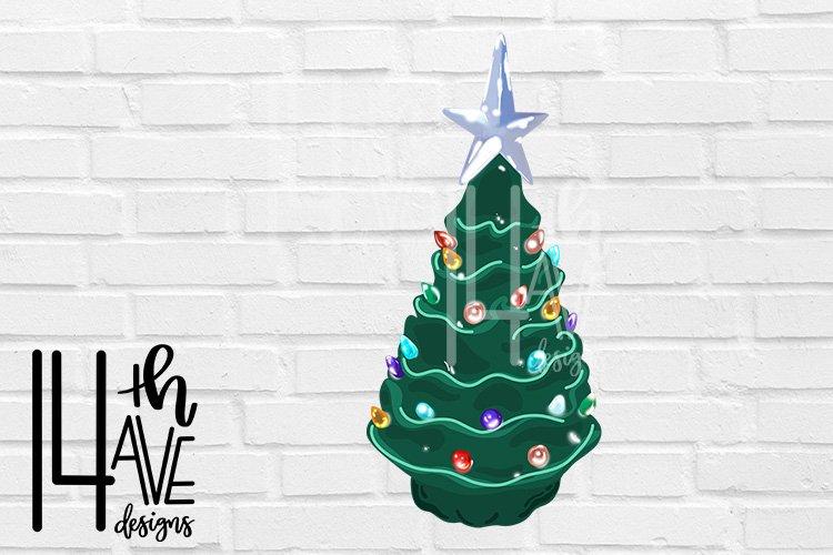 Ceramic Christmas Tree PNG, Christmas Tree Clip Art