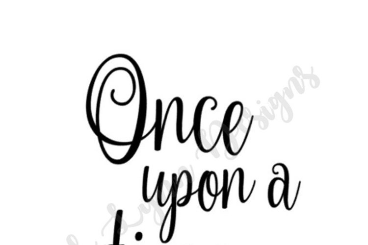 Once Upon a Time SVG File example image 1