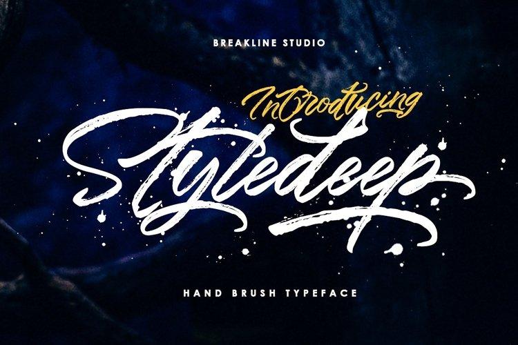 Styledeep Brush Typeface example image 1