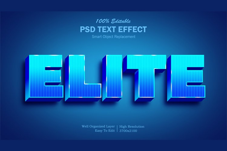 Elite Text Effect example image 1