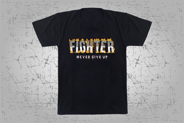 fighter never give up example image 1