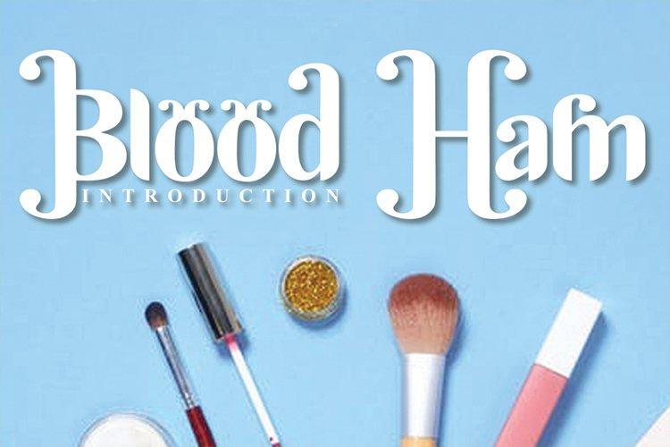 Blood Ham example image 1