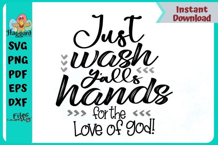 Just wash yalls hands for the love of god example image 1
