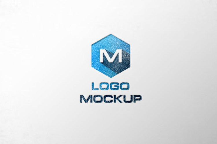 7 Office Mockups, 3d wall mock up.