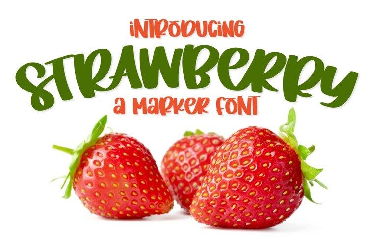Strawberry example image 1