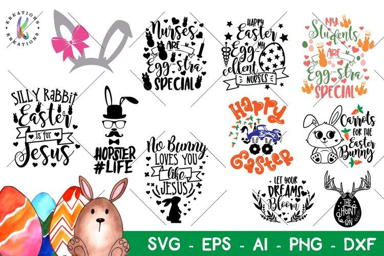Easter Bundle Svg Happy Easter Pack Svg Teacher Nurses Jesus 210528 Svgs Design Bundles